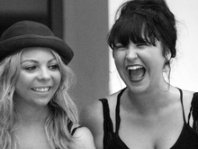 Cassie and Lauren Hearts to Harmony