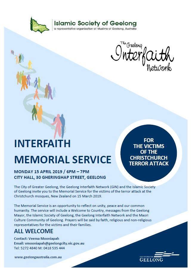 Muslim Memorial Service