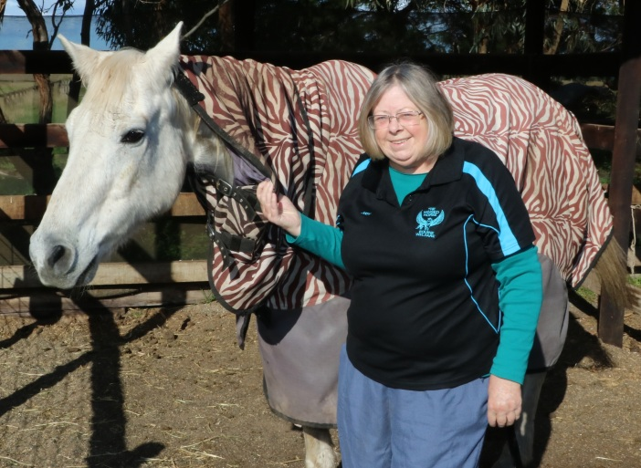 NVW Judy Lidstone and Casper 2
