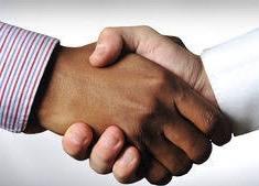 Deakin handshake
